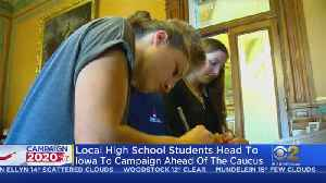 Local High School Students Headed To Iowa For 'Mikva Challenge' To Campaign Ahead Of The Caucus [Video]