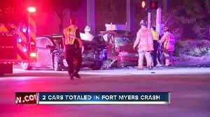Two cars in serious crash on Winkler Avenue overnight [Video]