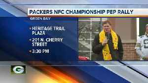 Packers Pep Rally [Video]