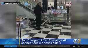 Man Seen On Video Trashing Bloomingdale's Store [Video]