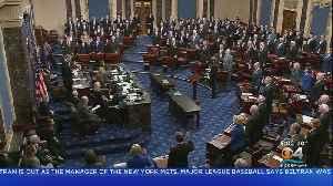 News video: Senator Sworn In For Start Of Impeachment Trial