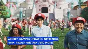 This week in gaming: Nintendo Park, Avengers, Pokémon… [Video]