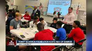 Tommy Bohannon Foundation host county-wide 'Man Up' seminars [Video]