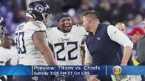 News video: Titans-Chiefs Matchup Brings Contrasting Styles To AFC Championship