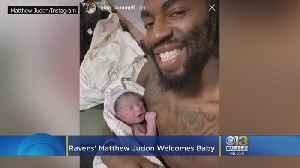 It's A Boy! Ravens' Matthew Judon, Wife Welcome Baby [Video]