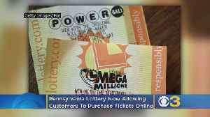 Pennsylvania Lottery Now Allowing Customers To Purchase Powerball, Mega Millions Tickets Online [Video]