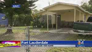 Fort Lauderdale Woman Shot In Her Home [Video]