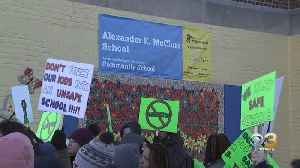 Teachers' Union, Parents Call For Safe Place After McClure Elementary School Closes For Additional Asbestos Cleaning [Video]