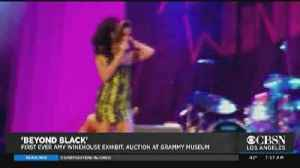 Amy Winehouse Exhibit Coming to Grammy Museum [Video]