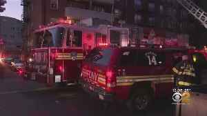 Fire Strikes Apartment Building On 67th Road In Forest Hills, Queens [Video]