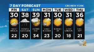 New York Weather: 1/17 Friday Afternoon Forecast [Video]
