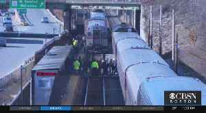 Boston College Student Hit By Commuter Rail Train In Newton [Video]
