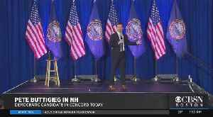 Presidential Candidate Pete Buttigieg Holds Town Hall Meeting In Concord, NH [Video]