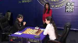 Iran chess referee won't return home after hijab uproar [Video]