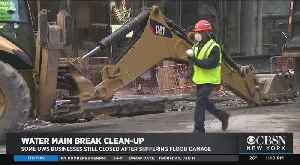 UWS Businesses Still Closed Following Water Main Break Flooding Damage [Video]