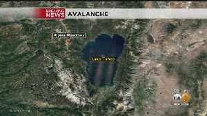 News video: Avalanche Slams Lake Tahoe Resort; Several People Missing