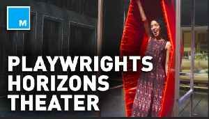 Go under the stage of the Playwrights Horizons theater – What's In The Basement [Video]