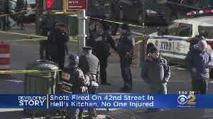 Police Questioning 1 Person In Connection To Shooting In Hell's Kitchen [Video]