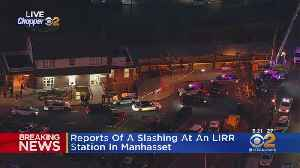 Slashing Reported At LIRR Station In Manhasset [Video]