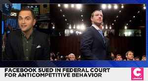 Facebook Sued for Alleged Anti-Competitive Behavior [Video]