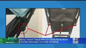 Baby Trend Recalls 2,000 Strollers Due To Child Fall Risk [Video]