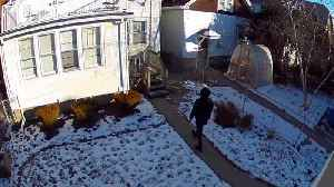 Homeowner Installs Cameras After Break-in; Footage Captures Suspicious Person Days Later [Video]