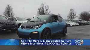 Newly-Signed New Jersey Law Provides Incentives For Electric Car Drivers [Video]