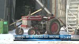 Farmers Buying Decades-Old Tractors [Video]