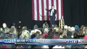 Mayor Pete stops by Mason City [Video]