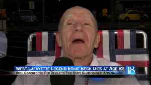 Former West Lafayette football coach Ernie Beck dies at age 82 [Video]