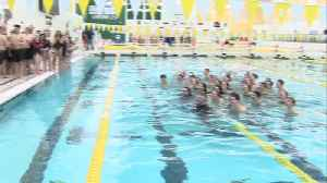 THN-THS Swim meet [Video]