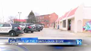 Armed robbery reported at liquor store near Five Points [Video]