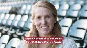 Alyssa Nakken Makes Baseball History [Video]