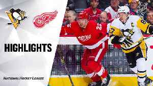 NHL Highlights | Penguins @ Red Wings 01/17/20 [Video]