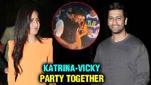 Katrina Kaif And Vicky Kaushal Come Together For Ali Abbas Zafar's Birthday | INSIDE Videos [Video]