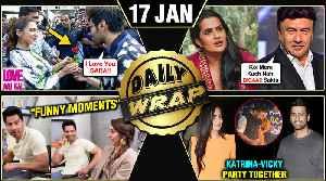 Kartik's LOVE For Sara, Akshay - Kiara Laxmmi Bomb, Katrina - Vicky Party TOGETHER   Top 10 News [Video]