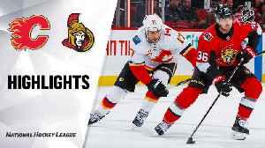 NHL Highlights | Flames @ Senators 1/18/20 [Video]