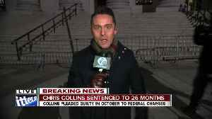 Ed Drantch reports outside courthouse after Chris Collins' sentencing pt 2 [Video]