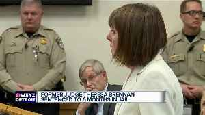 Former Judge Theresa Brennan sentenced to 6 months jail for perjury guilty plea [Video]
