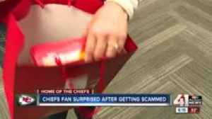 Chiefs fan scammed out of tickets gets Red Friday surprise [Video]