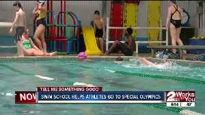 Swim school helps athletes go to Special Olympics [Video]
