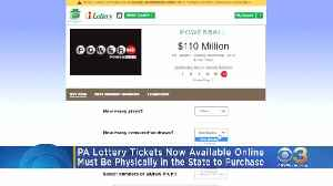 Powerball, Mega Millions Tickets Now Available Online In Pennsylvania [Video]