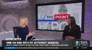 Point Of View: New York Attorney General Letitia James Talks NYPD Probe & More [Video]