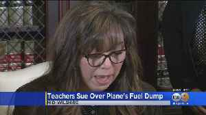 LAUSD Teachers Affected By Jet Fuel Dump File Lawsuit Against Delta Airlines [Video]