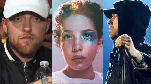 New Music Released From Eminem, Mac Miller & Halsey | Billboard News [Video]