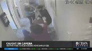 Woman Wanted After Violent Robbery At Worcester Nursing Home [Video]