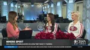 49ers Cheerleaders Ahead of NFC Championship [Video]