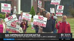 Weymouth Gas Compressor Station Battle [Video]