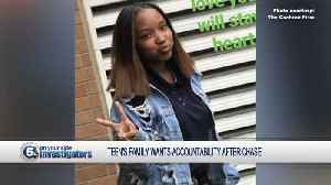 VIDEO: Family of 13-year-old girl killed in crash during police pursuit speaks out [Video]