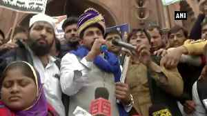 Bhim Army chief urges people from all religions to join anti CAA protests [Video]